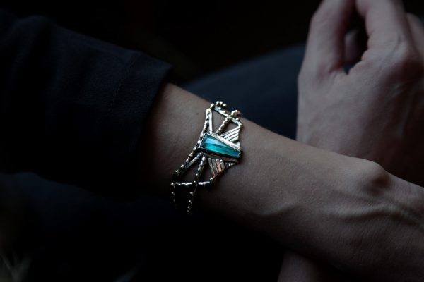 Arrow Chrysocolla Cuff