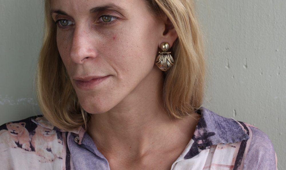 Emma Articulated Gold Earrings