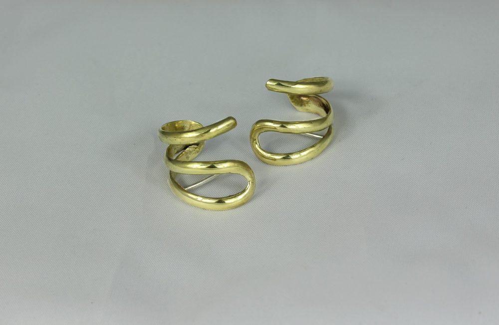 Flow Gold Ear Cuffs
