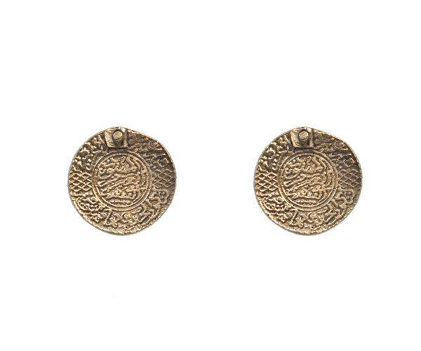 Moroccan Coin Earrings