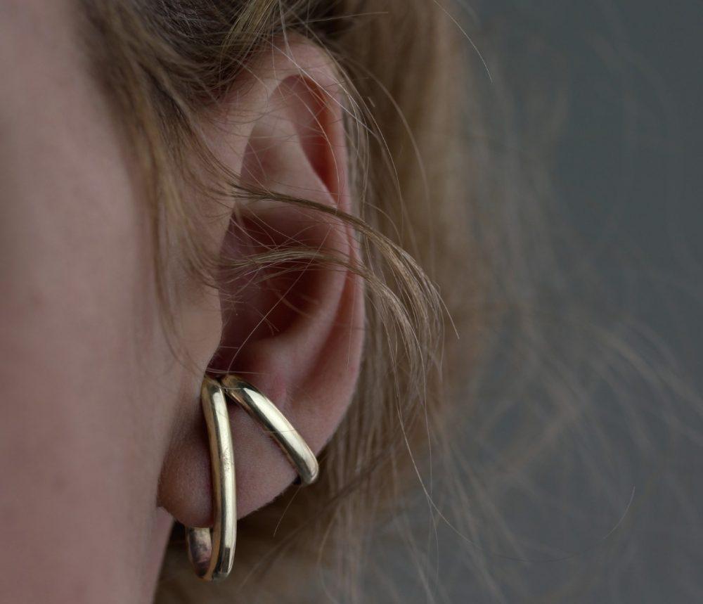 Vendra Gold Ear Cuffs