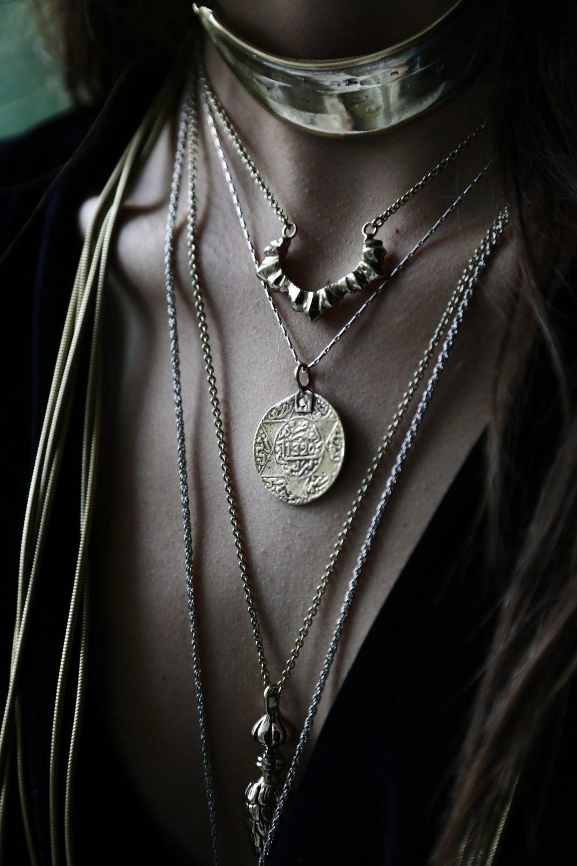 Moroccan Coin Necklace
