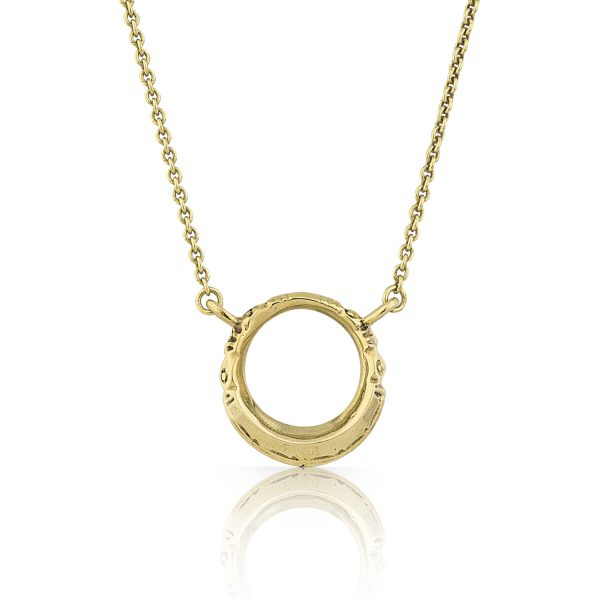 Tuareg Ring Gold Necklace