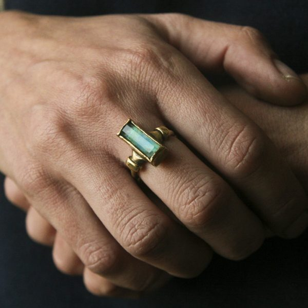 Era Chrysocolla Crystal Ring