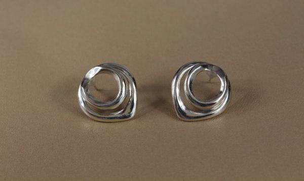 Drop Silver Ear Jackets