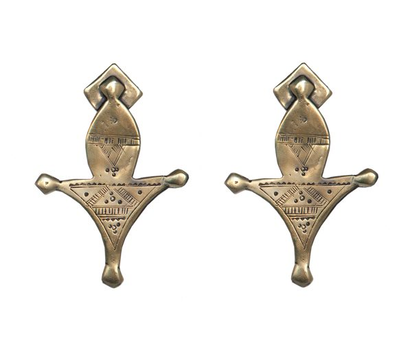 Tuareg Gold Earrings