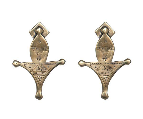 Tuareg Gold Earrings