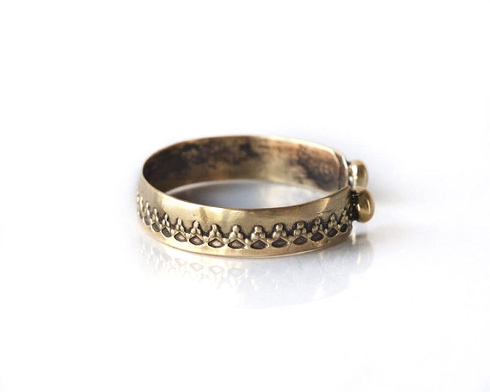 Lace Engraved Cuff