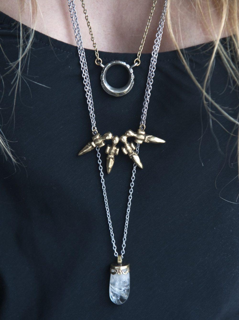 Unity Sculptural Necklace