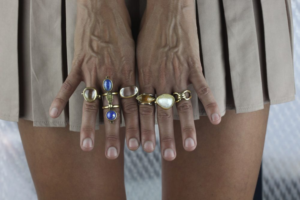 Warrior Lapis Lazuli Ring