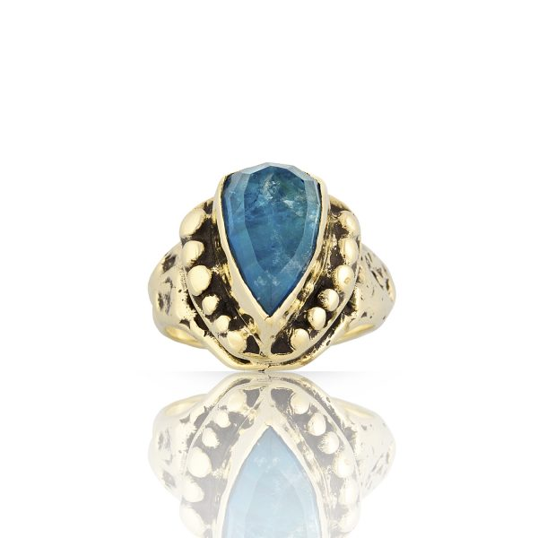 Orna Apatite Gold Ring