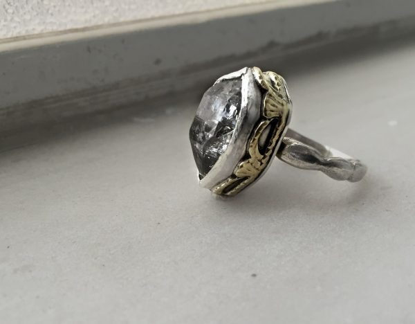 Freya Herkimer Diamond Ring