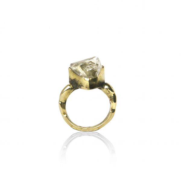 Herkimer Crystal Ring