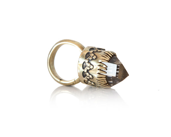 Leticia Crystal Ring