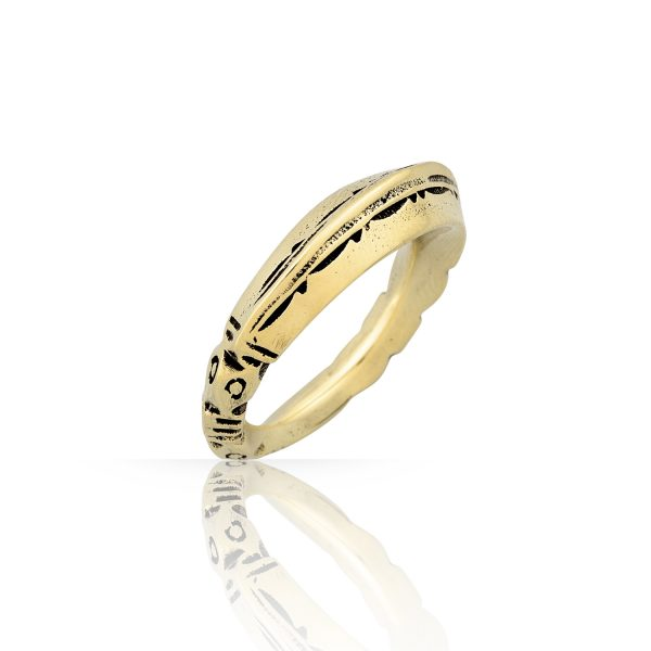 Tuareg Gold Ring