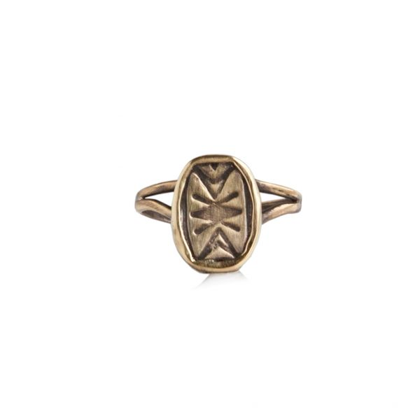 Coin Signet Ring