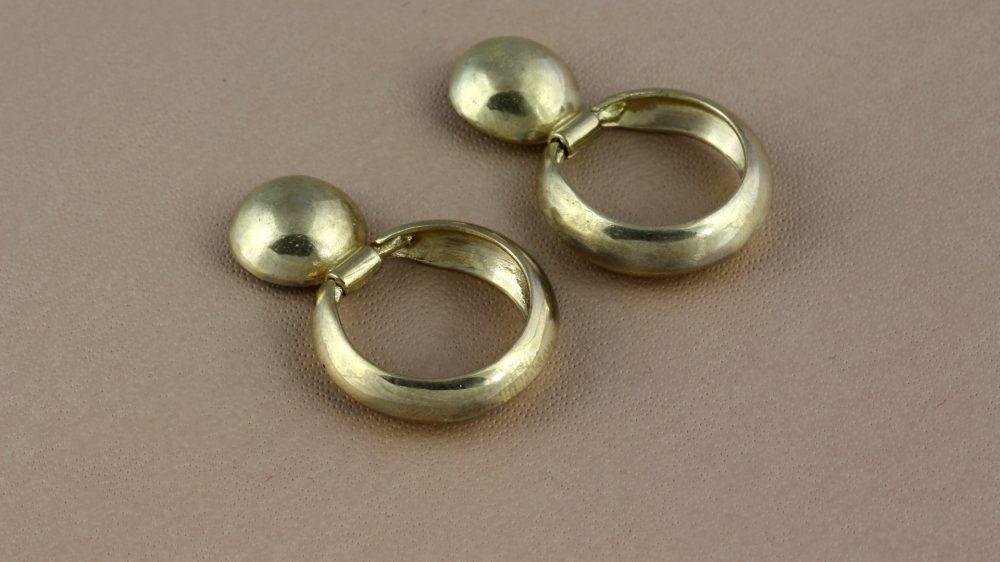 Arctic Gold Earrings