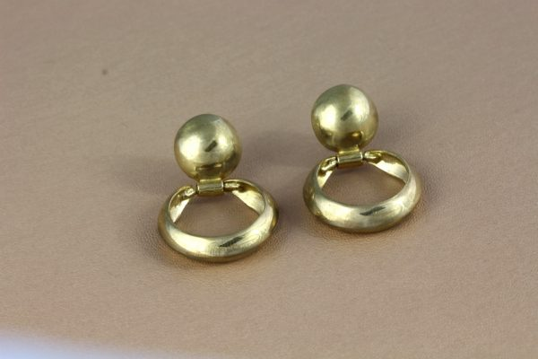 Arctic Gold Earrings