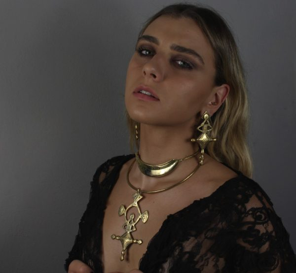 Armor Gold Choker Necklace