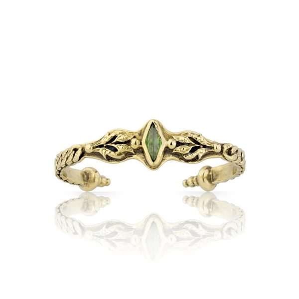 Lucy Green Crystal Cuff