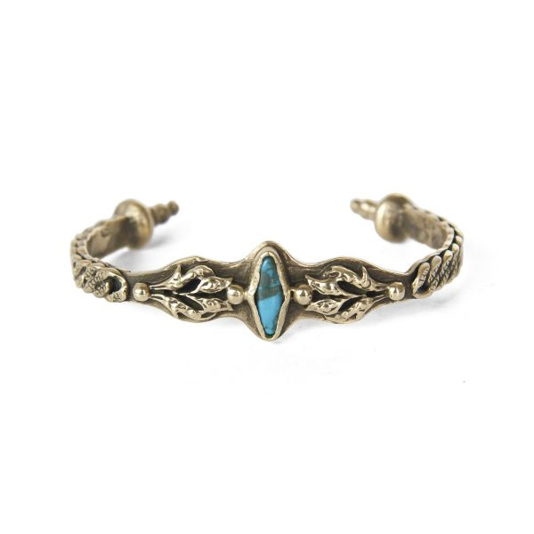 Lucy Turquoise Cuff