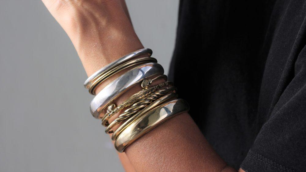 Arctic Gold Cuff Bracelet