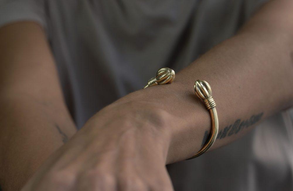 Aadhya Gold Silver Cuff