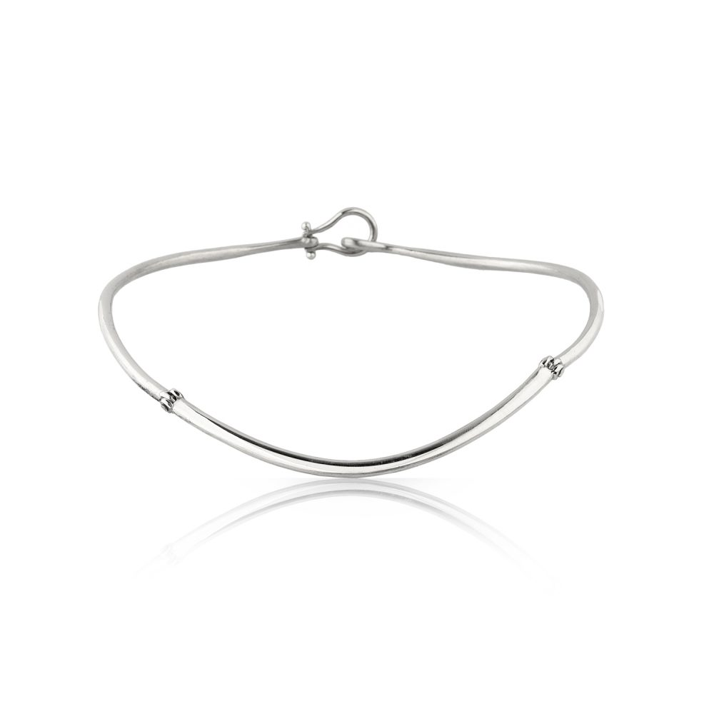 Norway Silver Choker Necklace