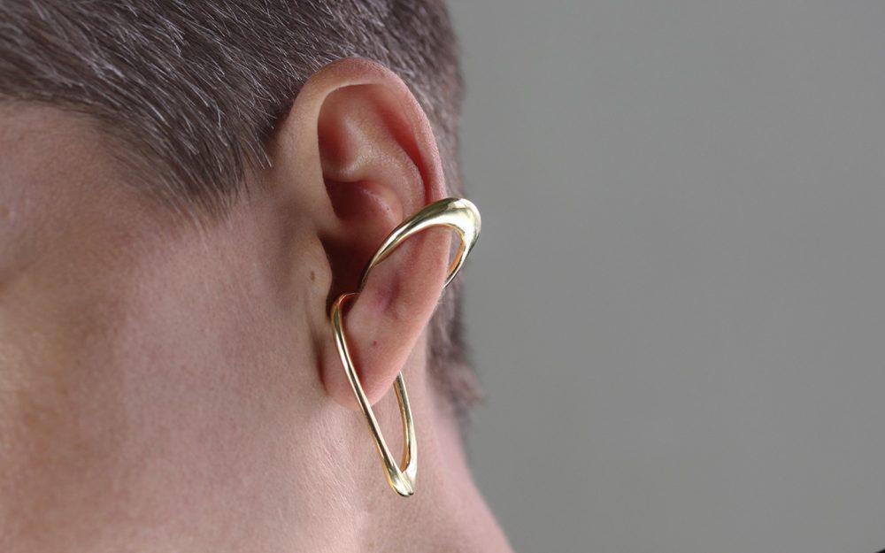 Eria Gold Ear Cuff