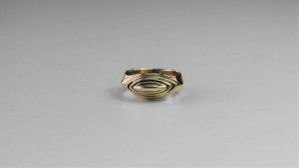 Pyramid Sculptural Ring