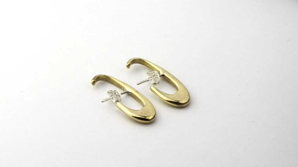 Theta Gold Ear Cuff
