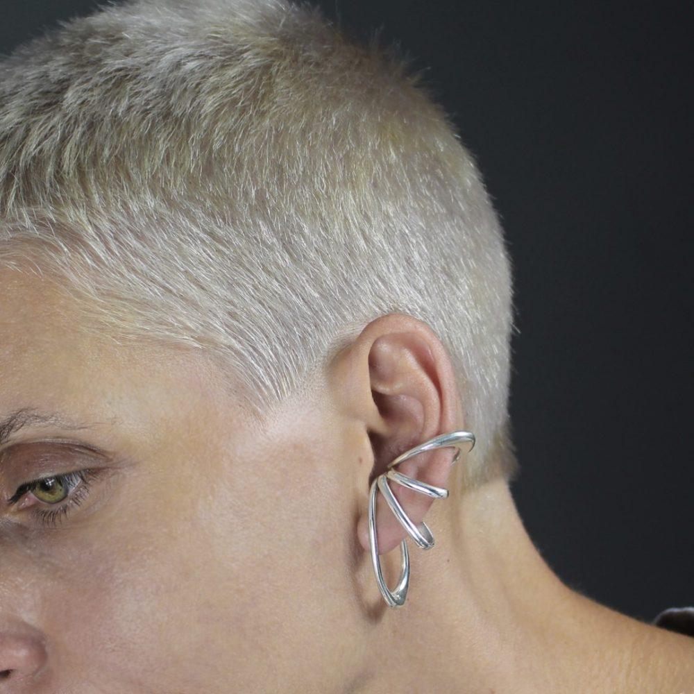 Eria Silver Ear Cuff