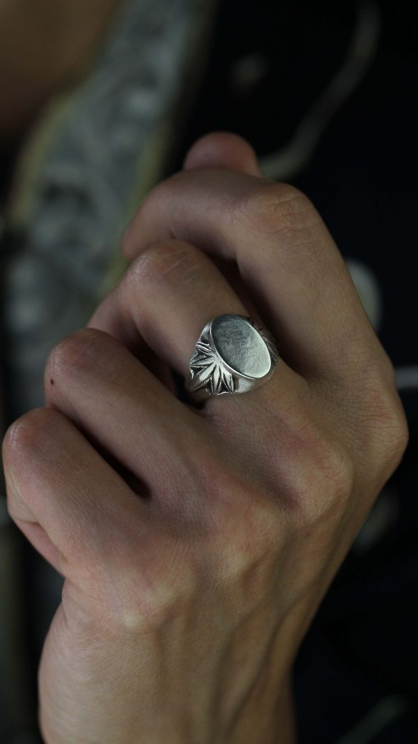 Ermis Signet Silver Ring