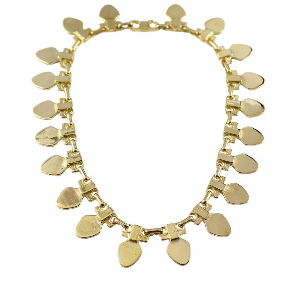 Medea Gold Modernist Necklace