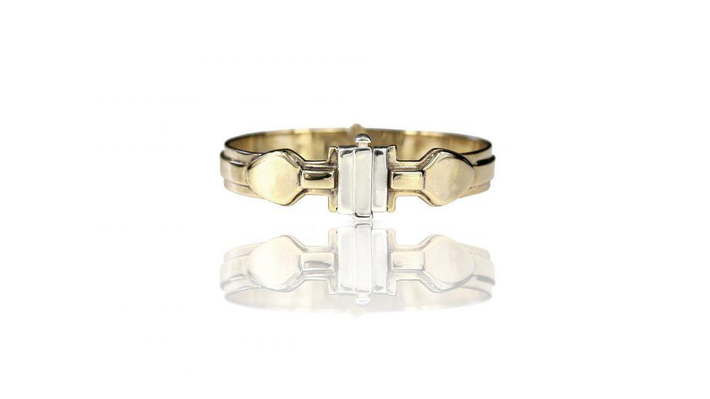 Medea Bronze And Silver Bracelet