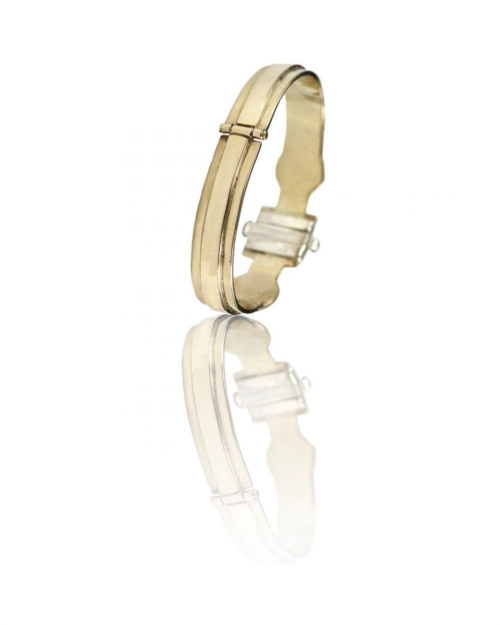 Medea II Bronze And Silver Bracelet
