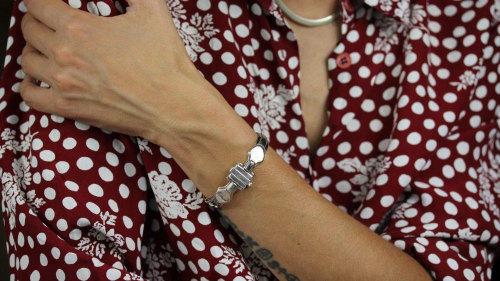 Medea II Silver Bracelet