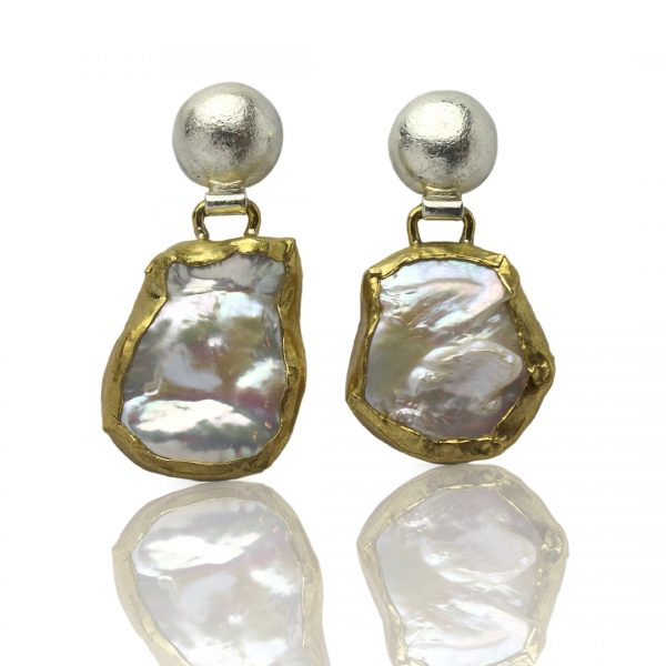 Ariel Baroque Pearl Earrings