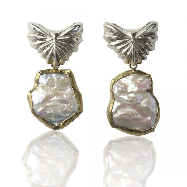 Adella Baroque Pearl Earrings