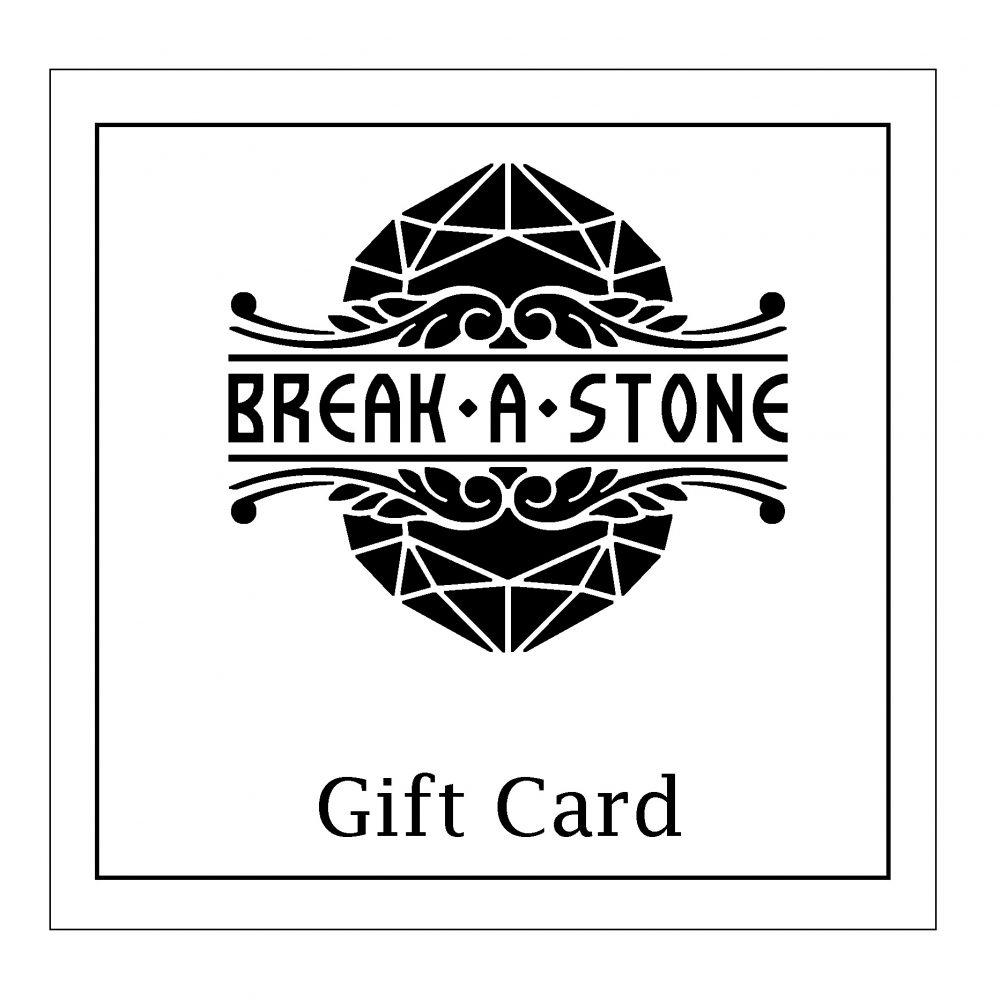 Break A Stone Jewelry Gift Card