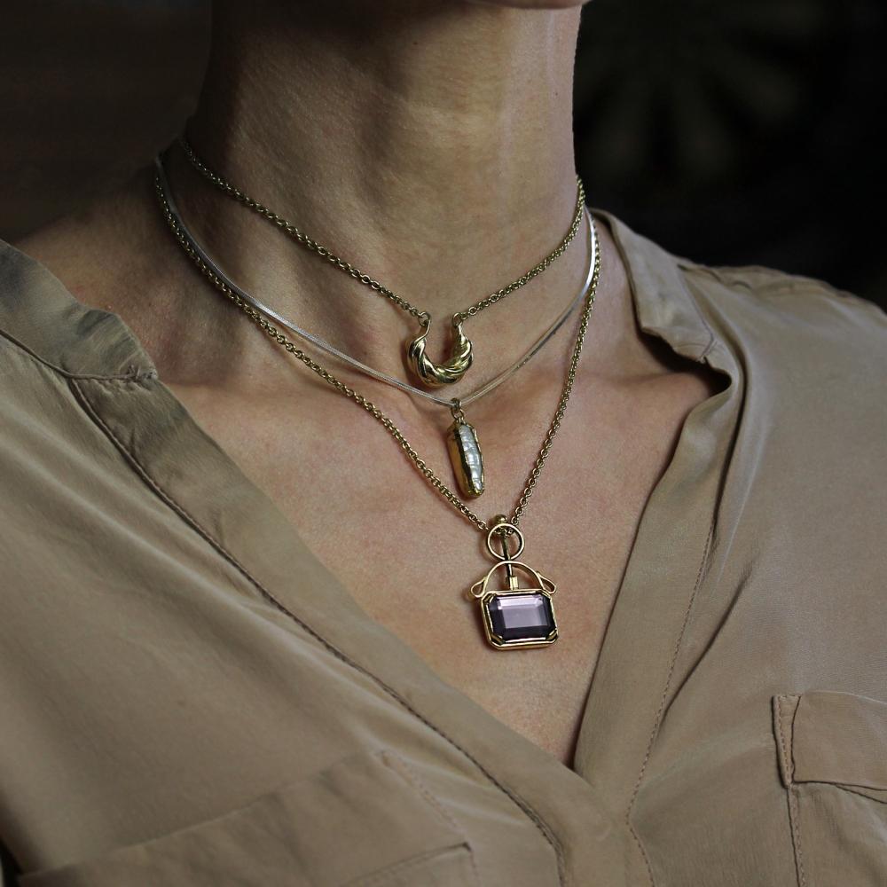 Spectra Amethyst Necklace