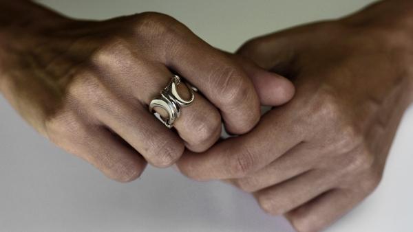 Kasra Silver Ring